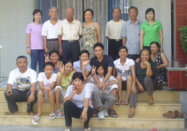 La famille au vietnam a hue au vi t nam for Acheter une maison au vietnam